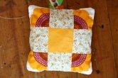 patchworkowa poduszka